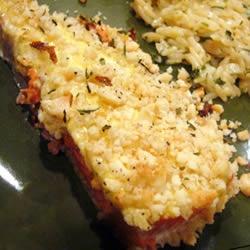 Hazelnut-Crusted Salmon Allrecipes.com