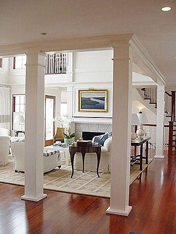 Interior columns home pinterest for Interior colums