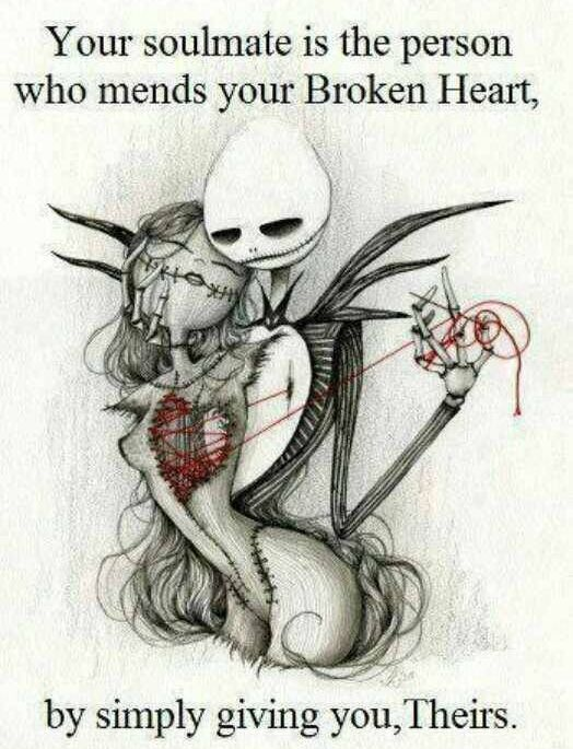Soul mate, I love Jack Skellington