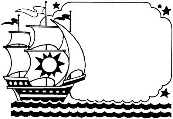 columbus ships coloring pages - photo #44