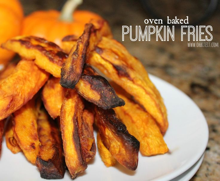 Oven Baked Pumpkin Fries! | Fun, unique & outrageous food~from my bl ...