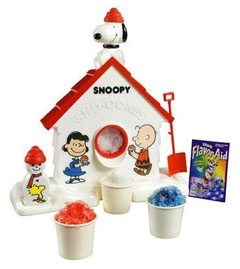 I remember the Christmas I got this.  I opened it up and promptly went to the dining room table and started making snow cones.  They were delicious!