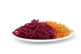 Raw Beet And Carrot Salad - LifestyleandKitchen.com