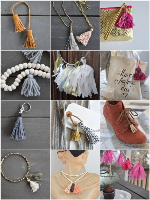 eBook - how to make DIY tassels | the nester