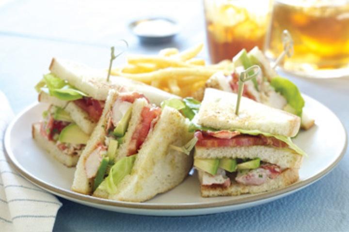 Lobster Club Sandwich | Sandwiches & Wraps | Pinterest