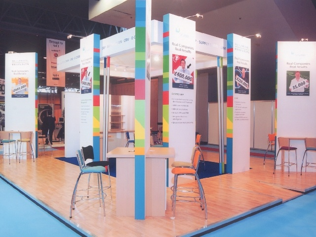 McGuffie Exhibition Stand at the CRM Show at he NEC