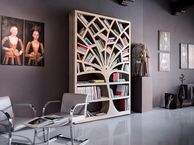 libreria ad albero farnia di b trade bookstore pinterest. Black Bedroom Furniture Sets. Home Design Ideas