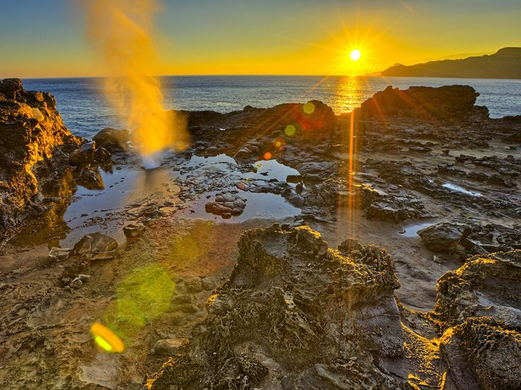 Nakalele Blowhole Poelua Bay, Maui