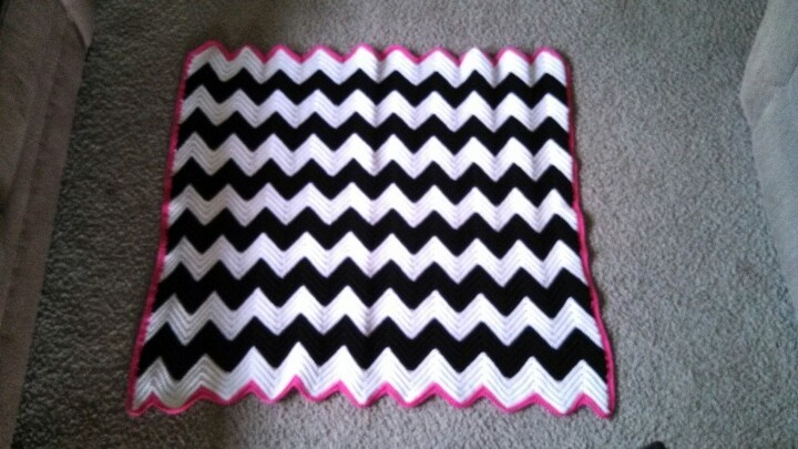 Crochet Zebra Blanket : Zebra chevron crochet blanket Crafty Pinterest