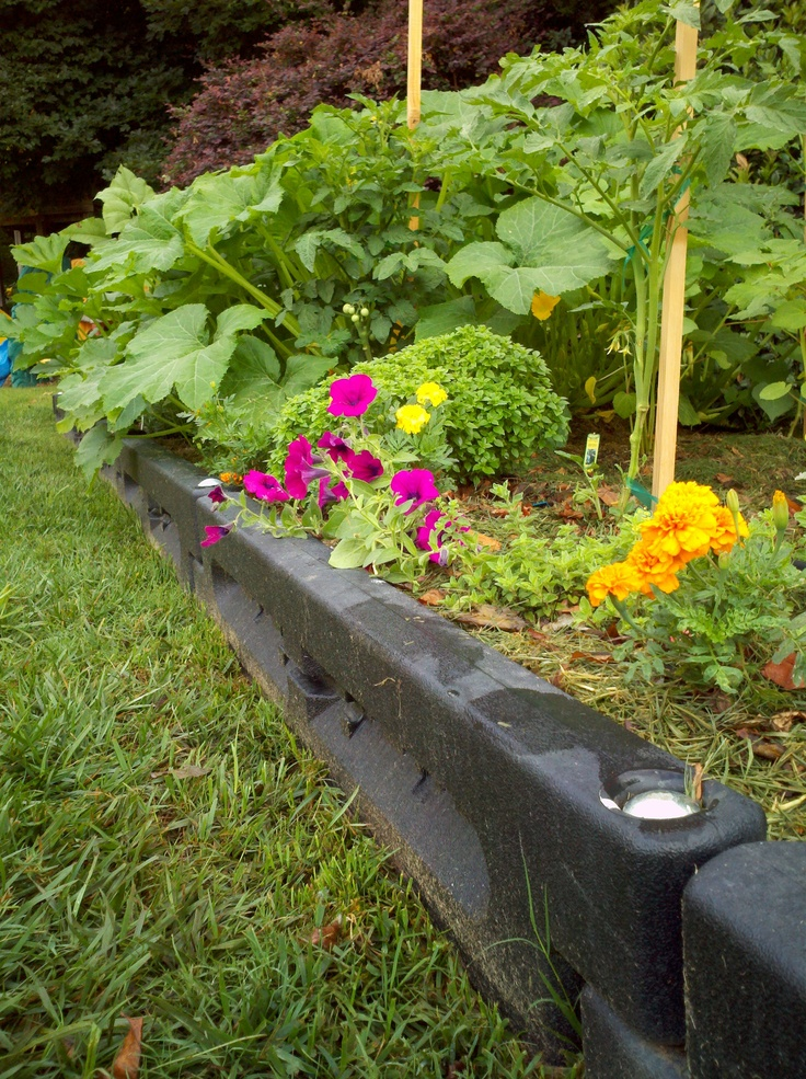 Funtimbers raised flower bed grandma 39 s planter pinterest for Flowers for flower beds