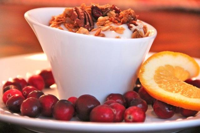 Cranberry Orange Granola #alaskafromscratch