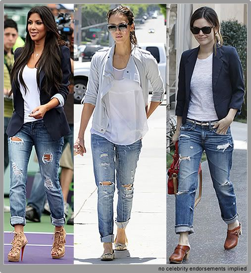 Is it possible to get a good pair of boyfriend jeans that is work appropriate-- no rips, tears, or holes?