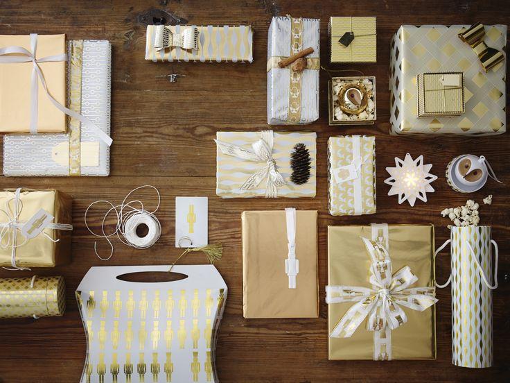 Kerstcadeaus inpakken - cadeauverpakkingen
