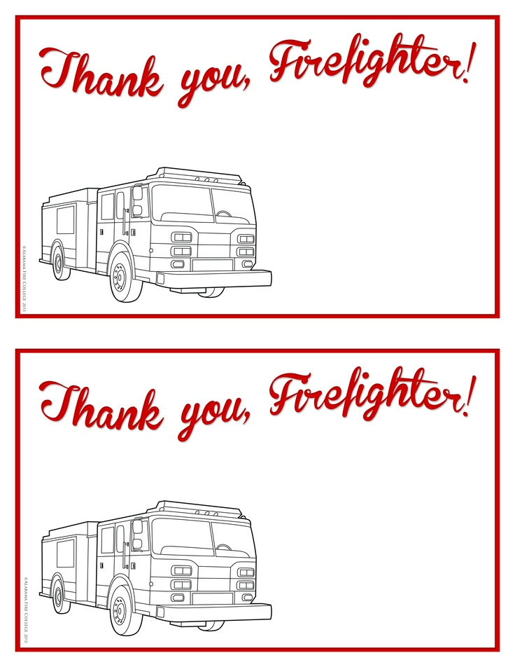 and print for students to send to their local firefighters http www ...