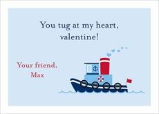 valentine card exchange letter