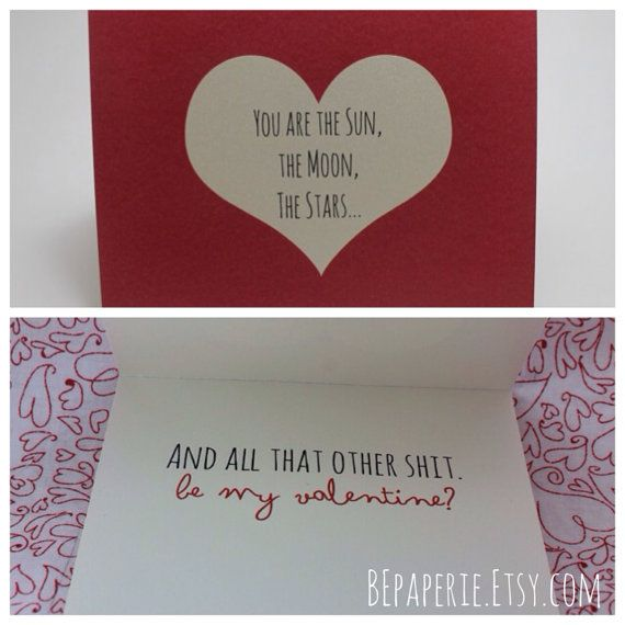 valentine cards clever