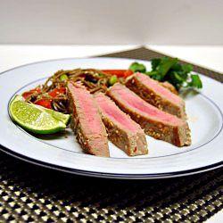 Sesame Crusted Tuna Steaks | under the sea | Pinterest