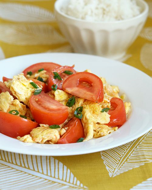 Stir-fried Tomato and Eggs one of my favorite chinese dishes! must ...