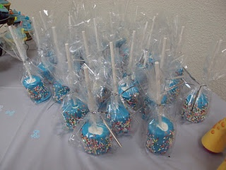 marshmallow pops great for birthday parties and baby showers