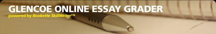 Pay for Exclusive Essay   glencoe essay writing   disertation     Online essay grader for teachers