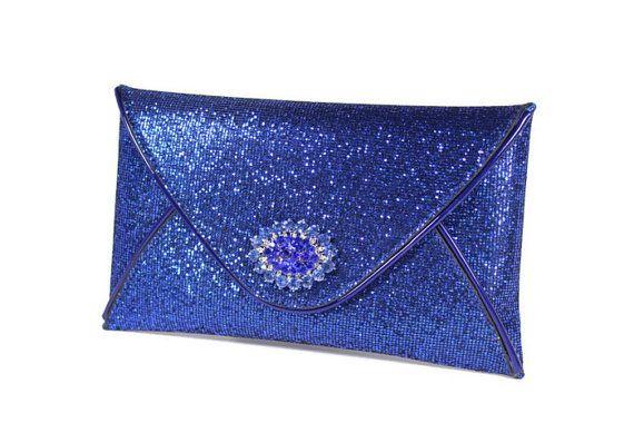 Brlue Evening Bag Bridal Clutch Cobalt Blue by WhiteAisleBoutique, 48 ...