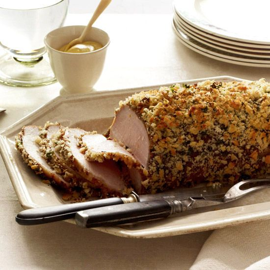 Herb-and-Garlic-Crusted Pork Roast - My mom made this for our ...