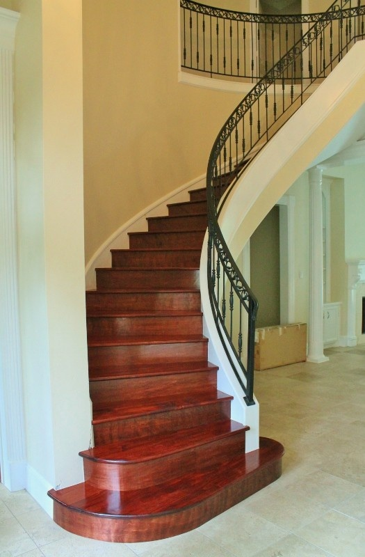 Best Mahogany Hardwood Stairs For The Home Pinterest 400 x 300