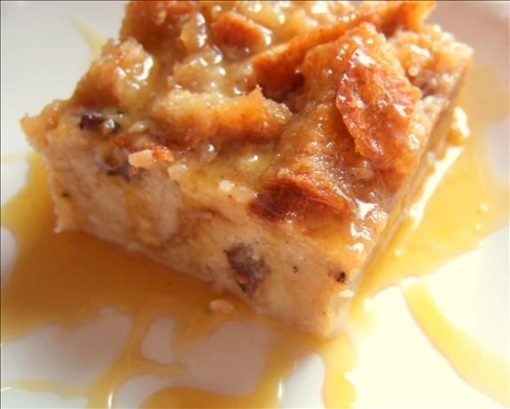 Bread Pudding With Bourbon Sauce | Recipe