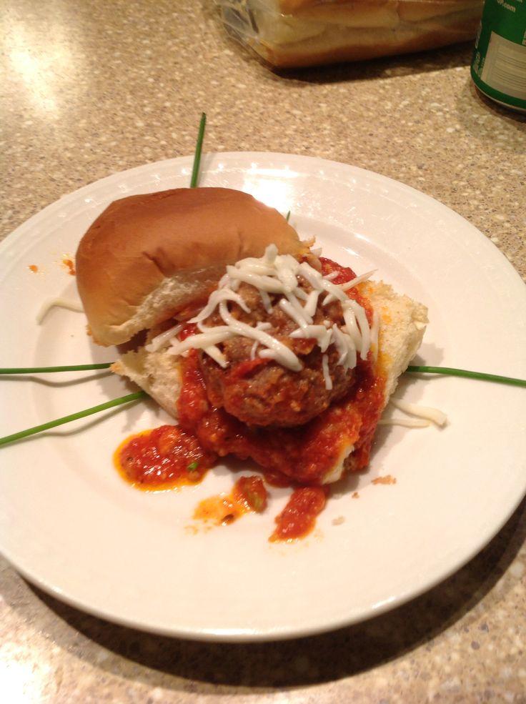 Mini Meatball Sandwiches Recipes — Dishmaps