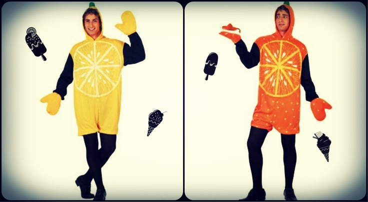 $17.75 Disfraz de Limón, Disfraz de Naranja  (Precio en €/ud)