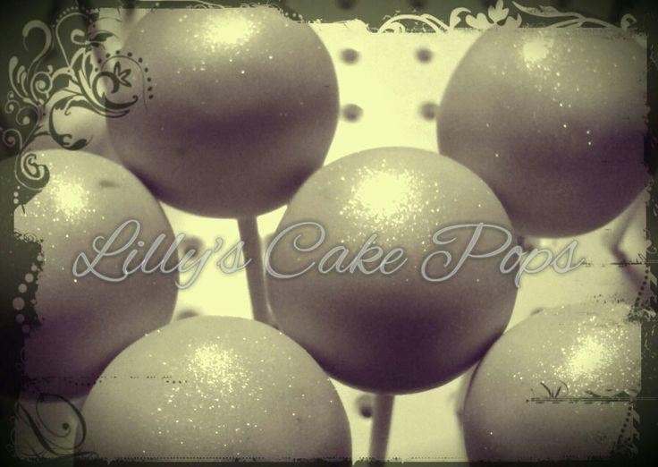 Decorating Cake Pops With Glitter : Glitter cake pops Cake Pops Pinterest