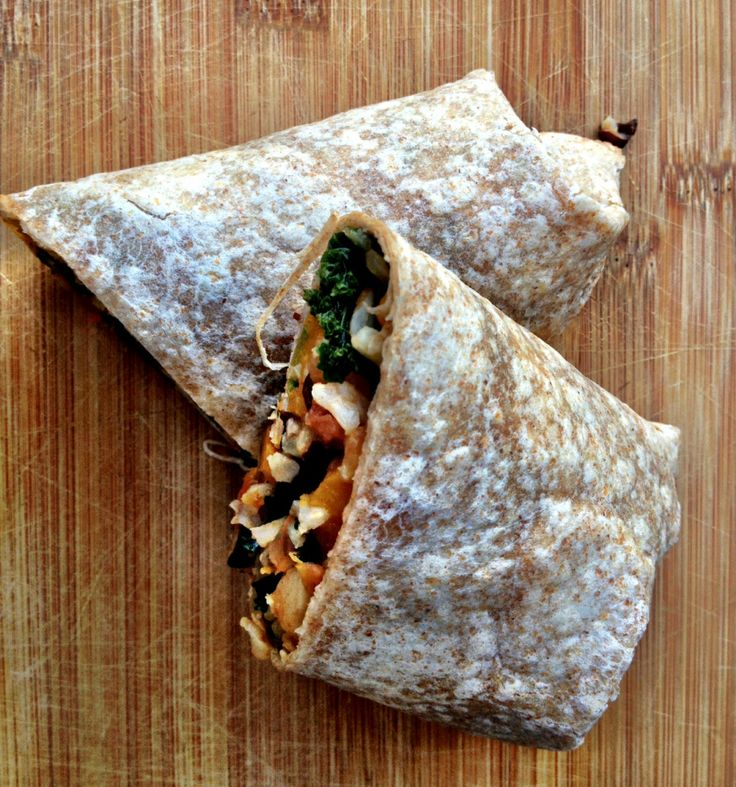 butternut squash and black bean burritos - Dishing Up the Dirt