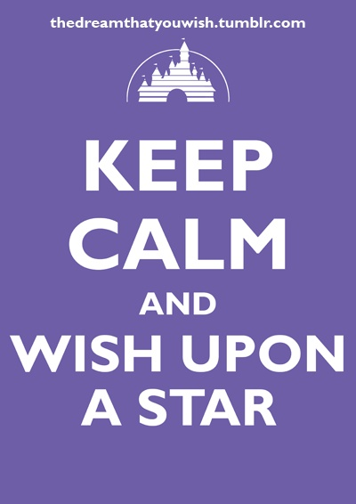 I wish upon a star every day.