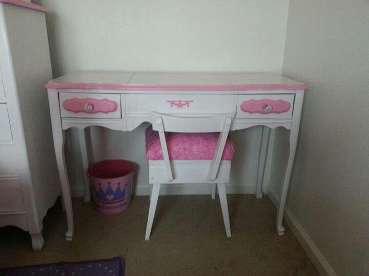 Vanity desk for girl s room callie pinterest