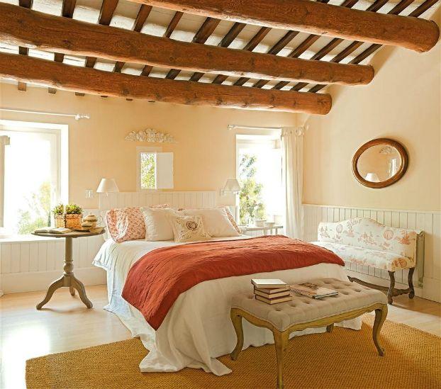 Old Farmhouse Restored Bedrooms Pinterest