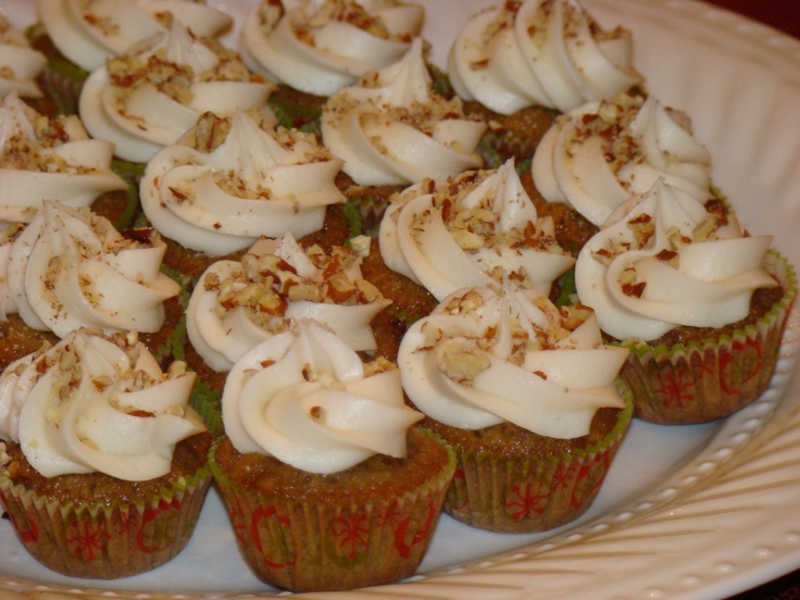 ... Mini Pecan Pie Cupcakes with Buttercream Frosting ... irresistible