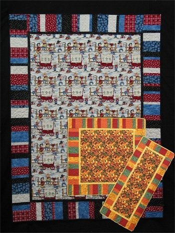 Quilt Patterns Using Large Scale Prints : Great for large scale prints Sewing-quilts Pinterest