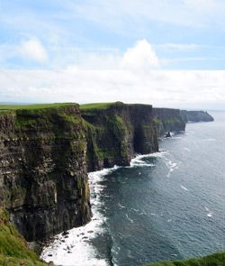 Cliffs of Moher, Ireland ...I have a similar photo from our trip there. A beautiful place.