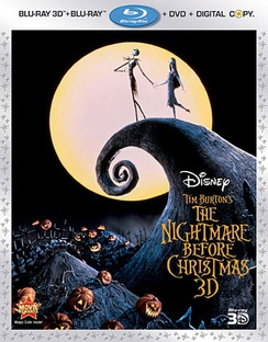 Nightmare Before Christmas Blu-ray | Let's Go To The Movies, Annie ...