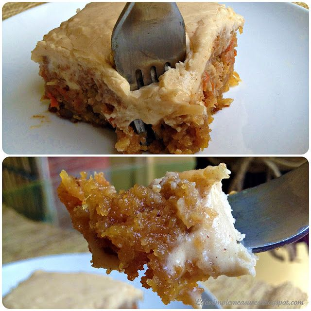 Gooey Cinnamon Carrot Cake | drinks/desserts-not yet posted to boards ...