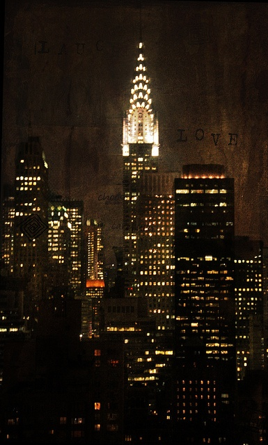 Chrysler Building at night   Empire State of Mind- 03/12 ...