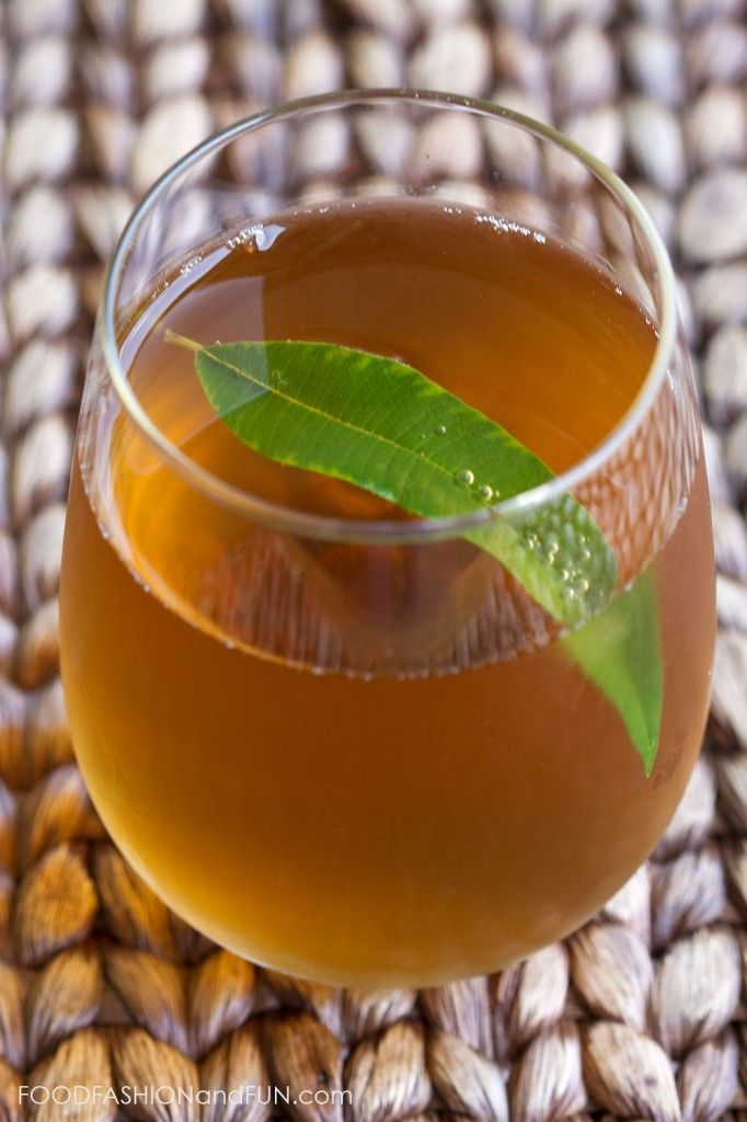 Lemon Verbena Drink Recipe — Dishmaps