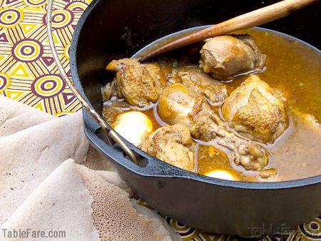 Chicken Stew (Doro Wett) | Eat it or gulp it down! | Pinterest
