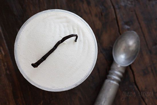 ... this... SOOO GOOD! Low Fat Vanilla Bean Frozen Yogurt | Skinnytaste