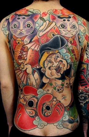 Backpiece Tattoo By Sabado Japan  Inkspiration Pinterest