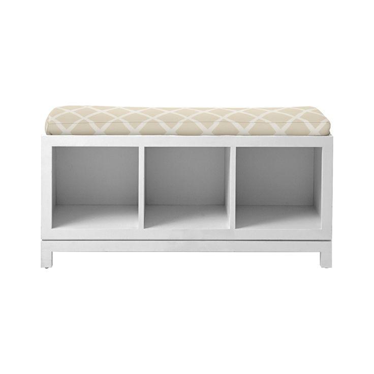 Campaign storage bench serena lily new master bath