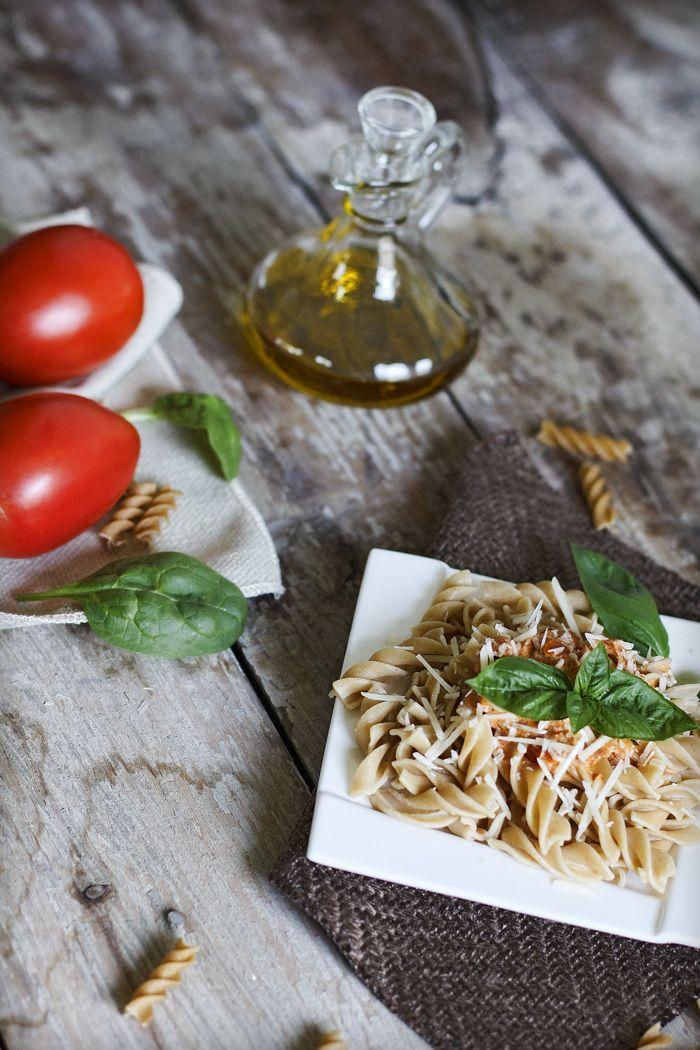 Creamy Pesto & Tomato Pasta   Pasta/Potatoes/Rice   Pinterest