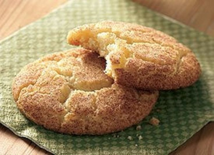 Snickerdoodle Cookies with Betty Crocker cake mix...B.C.--I used ...