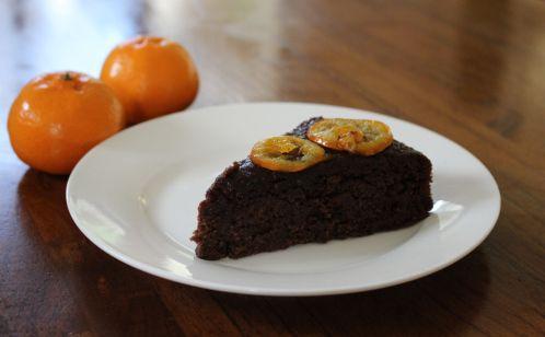 Gluten Free Chocolate Mandarin Orange Cake Recipe — Dishmaps