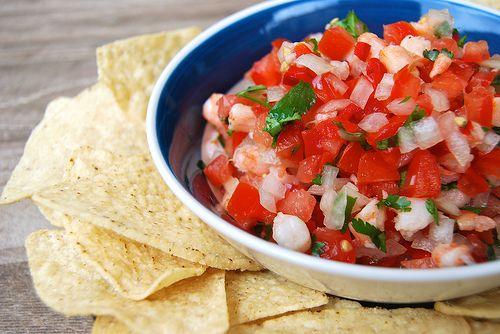 Summer Shrimp Salsa | Food | Pinterest